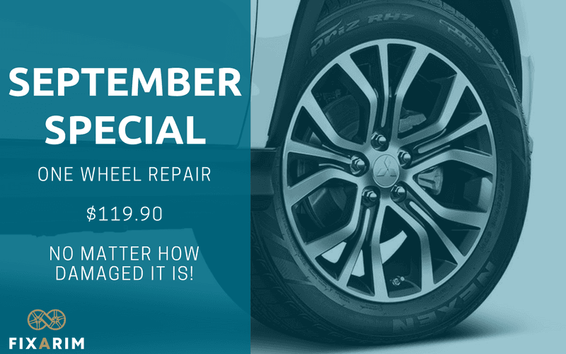 September Alloy Wheel Repair Special