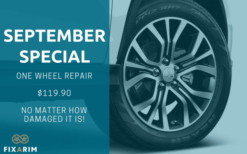 Wheel Repair September Special