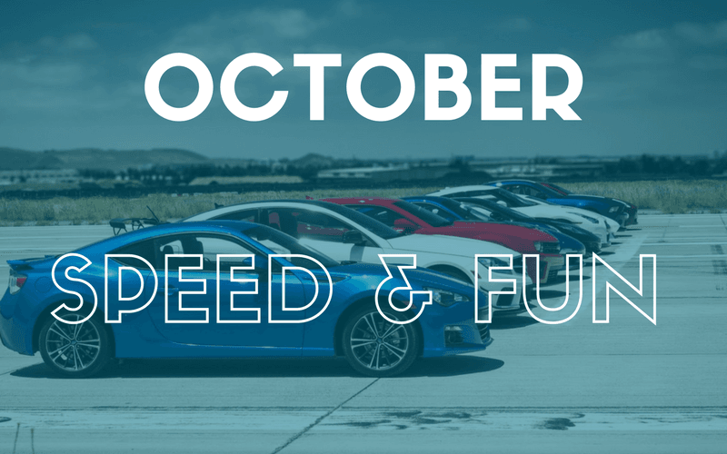 October Speed And FUN